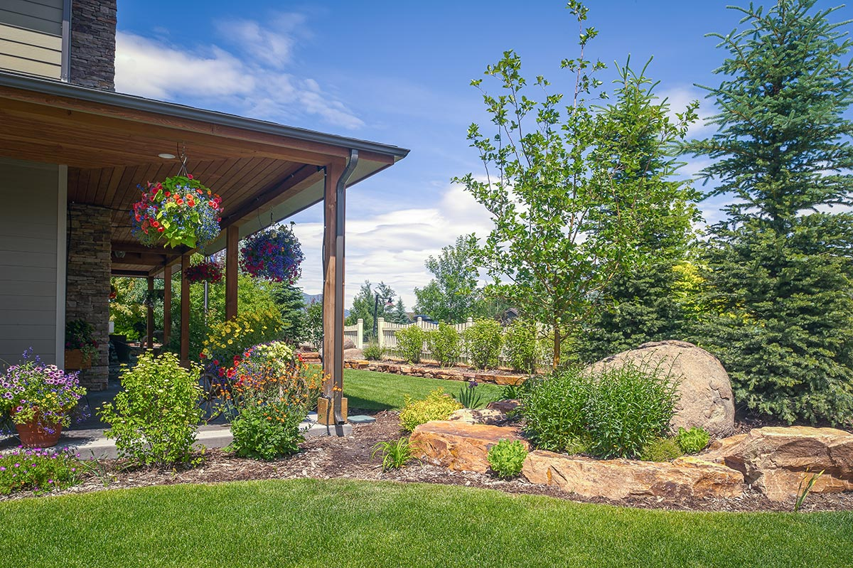 Bozeman Residence Wagner Nursery Landscaping Company